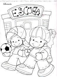 Resultado De Imagen Para Dibujos De Las Obligaciones De Los Ninos Y Adolescentes Preschool Designs Coloring Pages Journal Stationery
