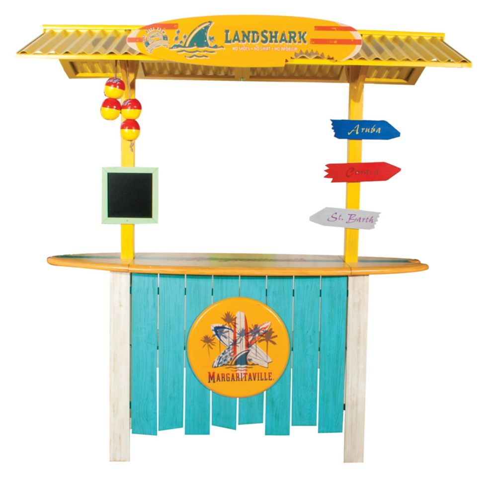 Margaritaville Patio Surfboard Bar Products Outdoor