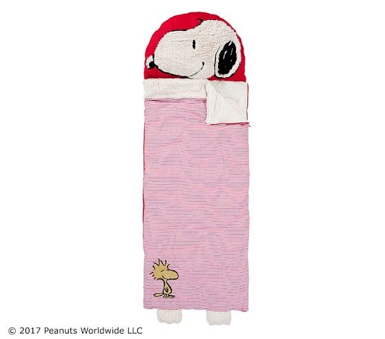 Snoopy 174 Sleeping Bag With Images Snoopy Sleeping
