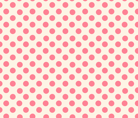 Roses & Vines polka dots-ch-ch by karenharveycox