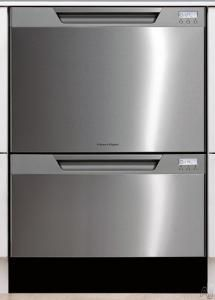 Fisher Paykel Semi Integrated Double Dishdrawer Drawer Dishwasher Double Drawer Dishwasher Kitchen Dishwasher