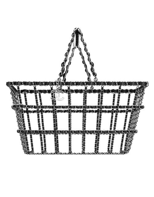 Shopping basket by Chanel