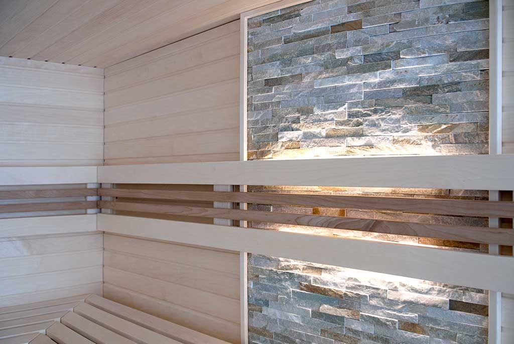 Glasfront-Sauna, luxuriös, design, transparent Apart-Sauna - sauna designs zu hause