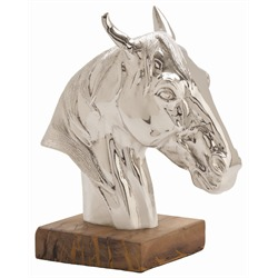 Horse Head Sculpture