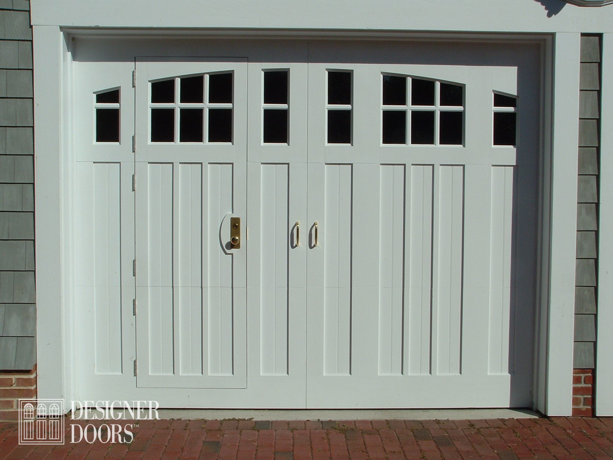 garage watch through a door youtube with style how to walk