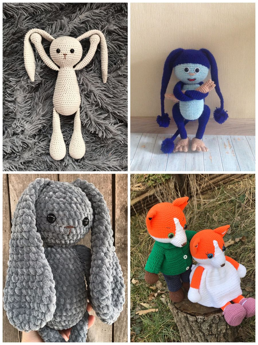 Crochet toys by on Etsy in 2020