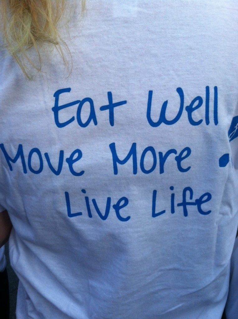 Eat Well, Move More, Life Life! Jenny Craig and The American Heart Association Heart Walk