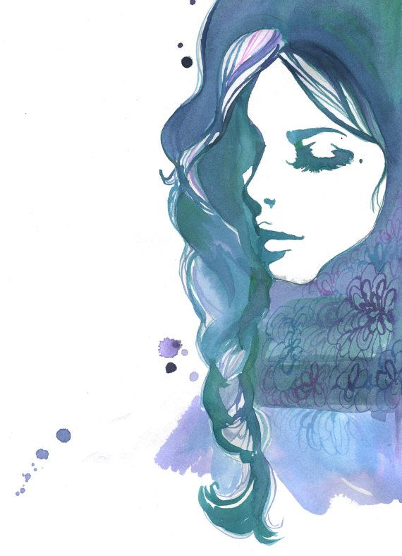 Bleu Jessica Durrant All About Art Art Dessin Dessin