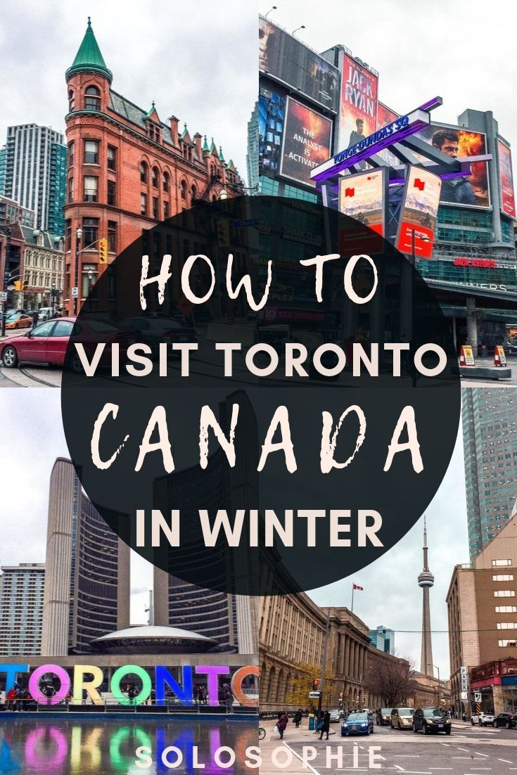 Canada in Winter: Here's your ultimate guide to the best things to do in Toronto in November and December, including attractions and travel tips!