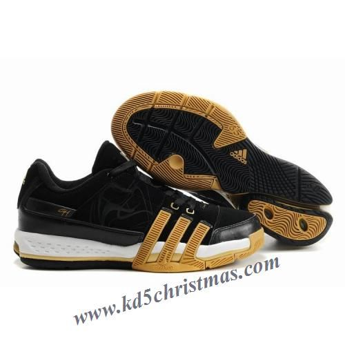 69137374da58 Adidas T-Mac 10 Tracy McGrady Low Shoes Black Gold