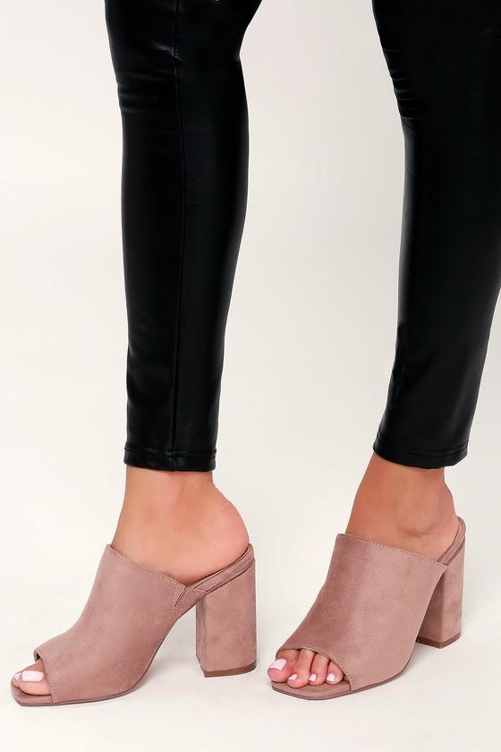 mule shoes open toe