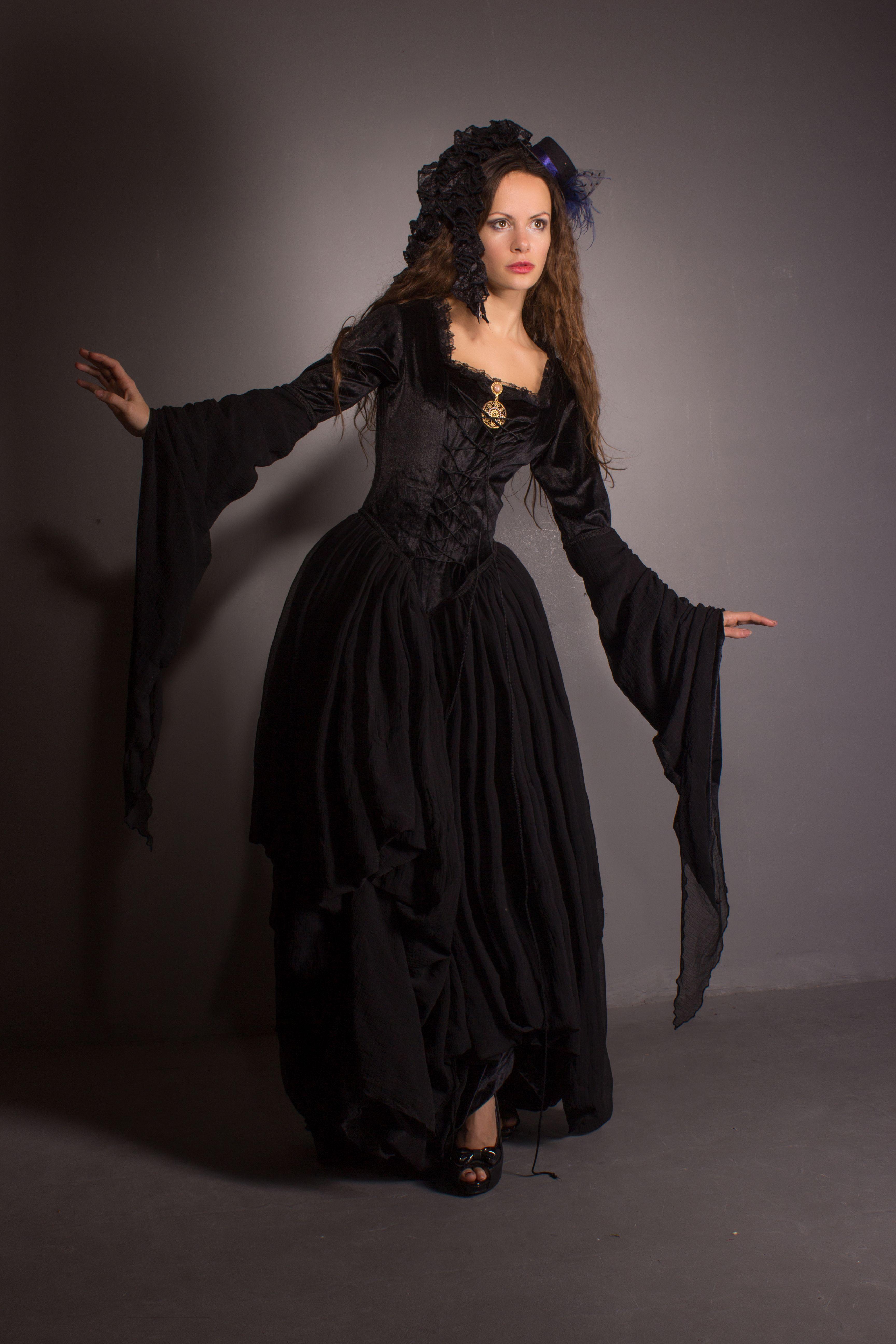 Dress Stand Dresses Black Dress [ 5184 x 3456 Pixel ]