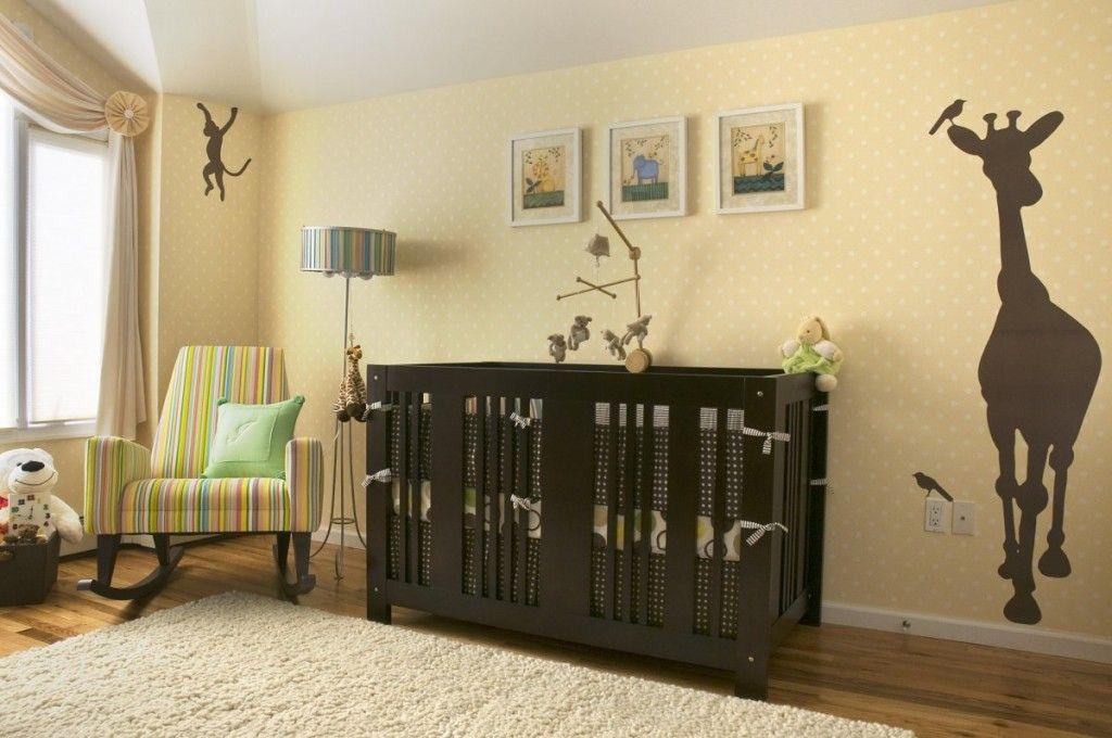 Dazzling Baby Room Rugs In Brown Wood Flooring Design Using Dark ...
