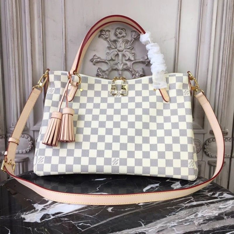 6c23c77b0f Louis Vuitton Lymington Damier Azur Canvas N40022  Lymington