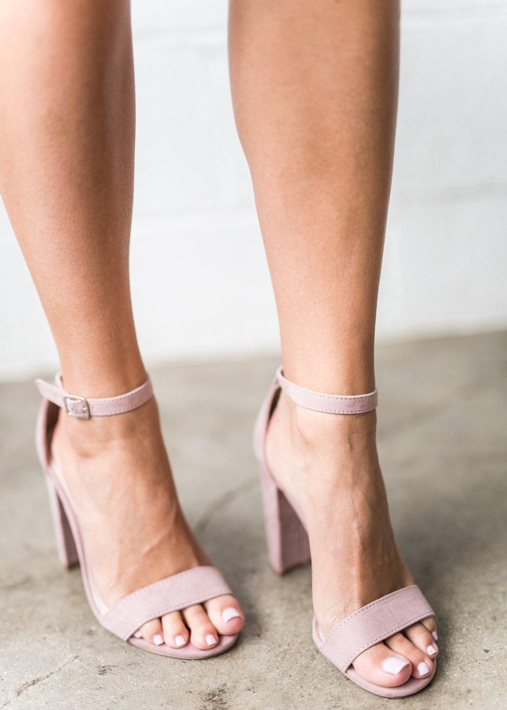 Desert Rose Suede Heels Jessakae New Arrivals Pink Sandals Pink Heels Blush Cute Summer Fashion Spring Style Women Heels Homecoming Shoes Sandals Heels [ 1433 x 1024 Pixel ]