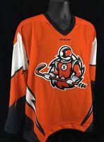 97d02360aa2 Fort Wayne Komets  Orange Spaceman Replica Third Jersey