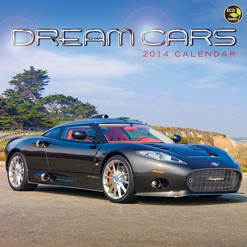 Dream Cars 2014 Wall Calendar