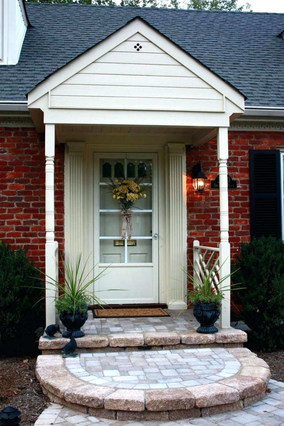 Best Patio Door Steps Front Porch Ideas Kitchen Makeovers Brick 400 x 300
