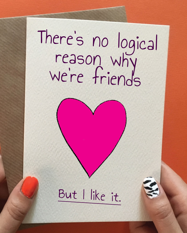 No Reason Funny Friend Birthday Ts Birthday Cards