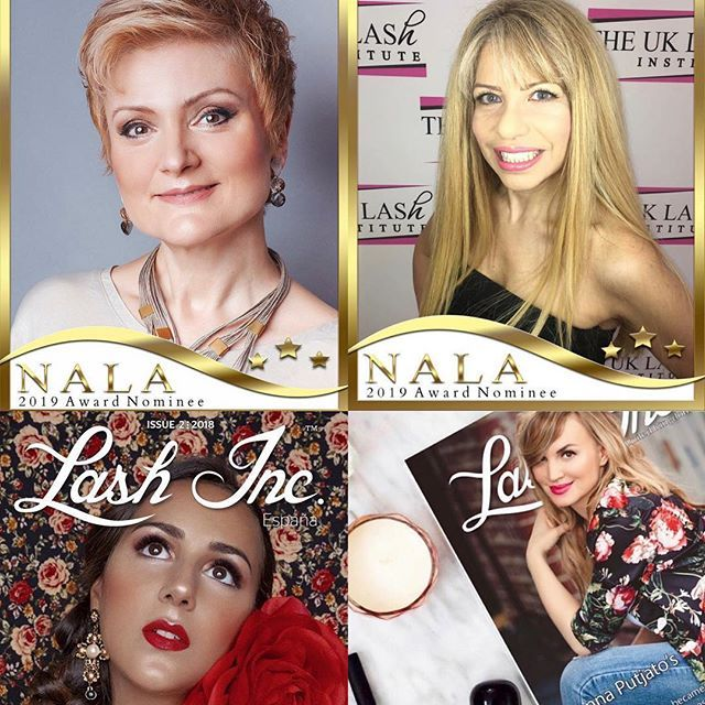 d30cba2e50b So very proud of these ladies @lanaslatina @uklashinstitute Nominated for NALA  Award for their regional Magazines from @lashassociation For #lashincespaña  ...