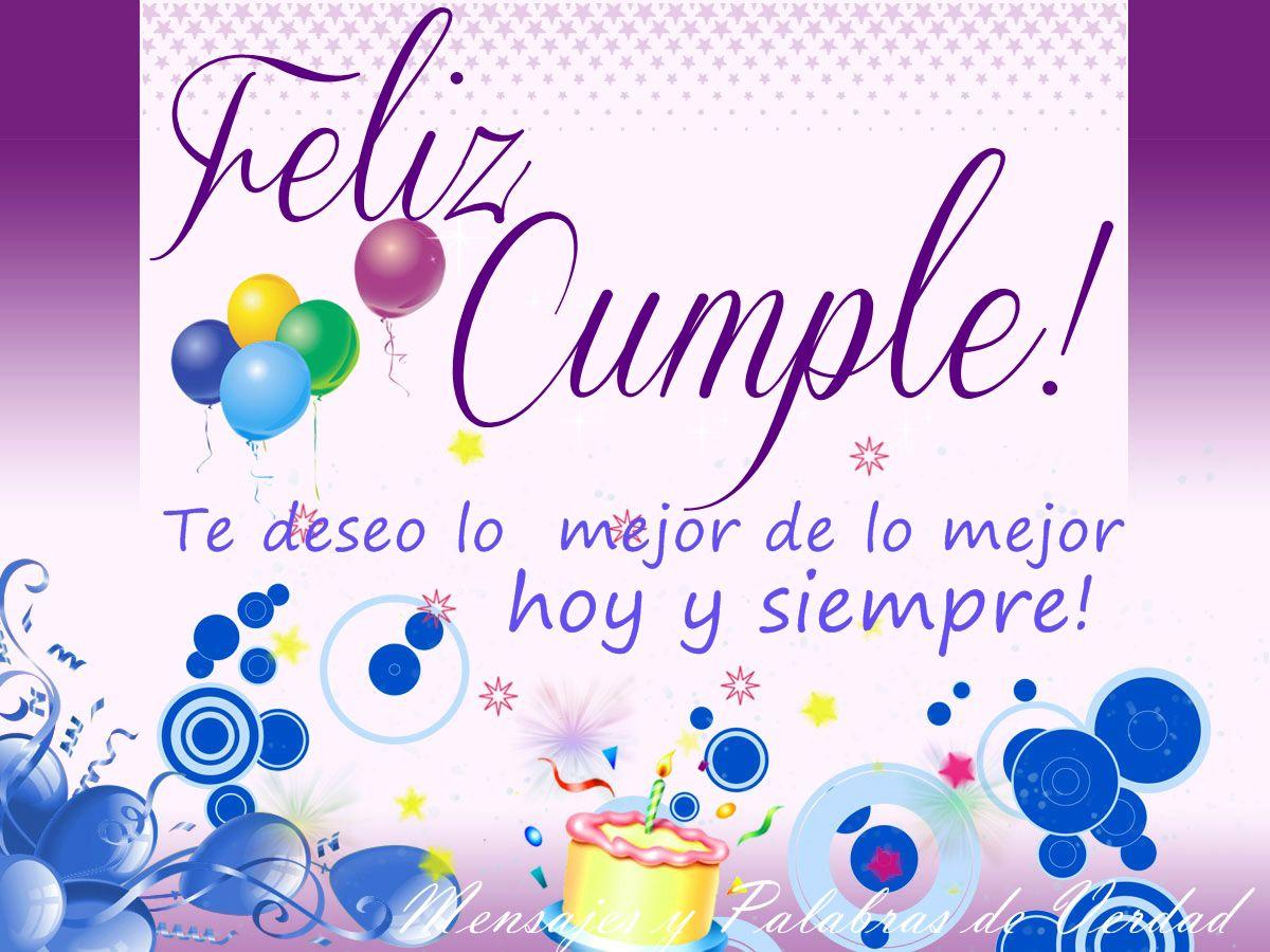 imagenes de tarjetas de cumpleaños para mujeres 6 | Happy Birthday ...