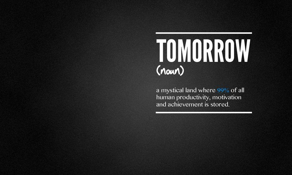 Tomorrow promise