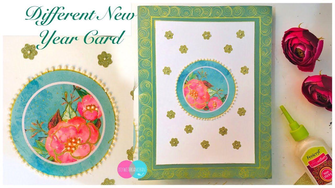diy new year greeting card 2019latest design craft