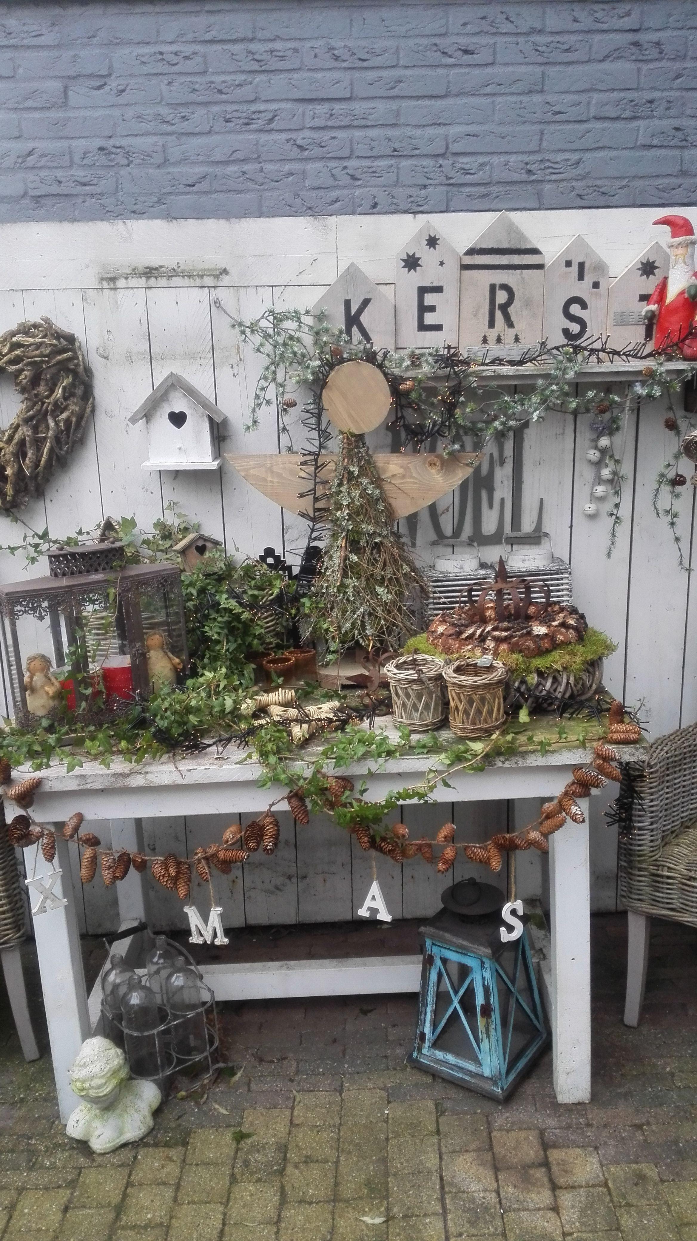Kerst Buiten Decoratie Kerst Boerderij Kerst Kerst Trap