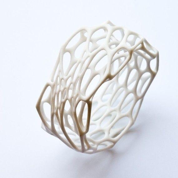 Interstice bracelet (3D printed nylon)