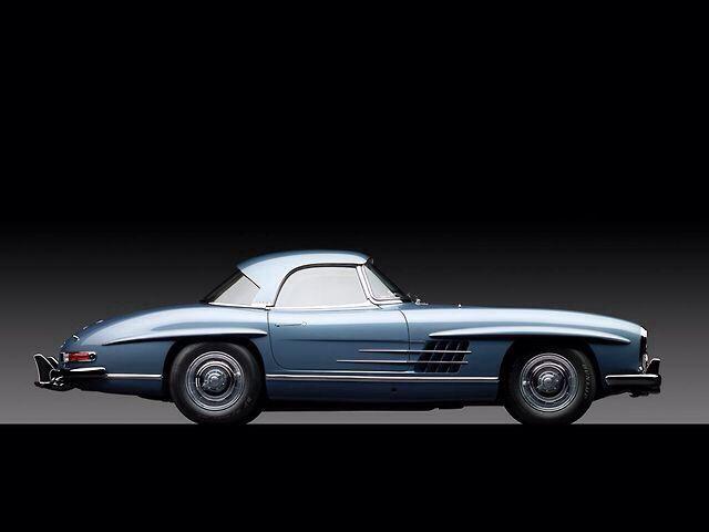 1960 Mercedes-Benz SL-Klasse Grand Tourer Convertible