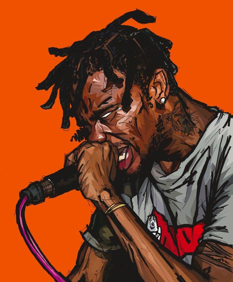 Travis La Flame Scott Hip Hop Poster Hip Hop Illustration Hip Hop Art