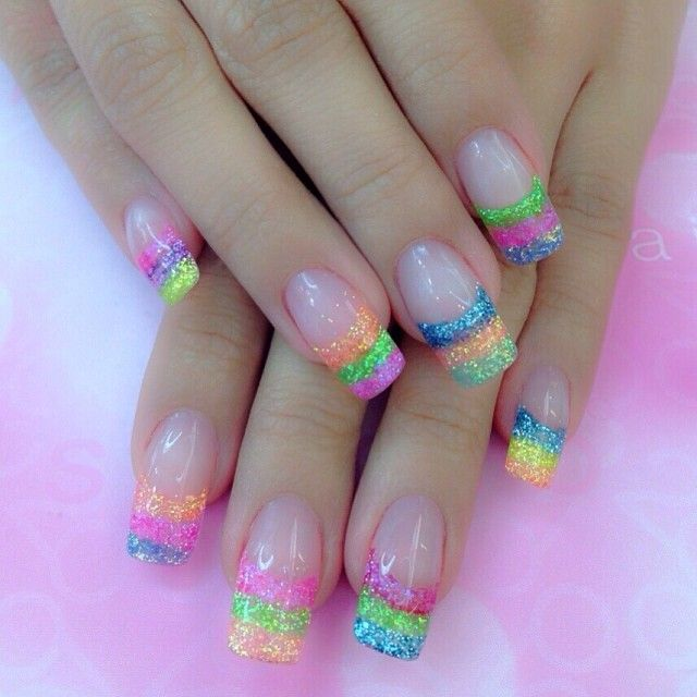 Instagram Photo By 20nailstudio Nail Nails Nailart Http Hubz Info 63 These Are Some Beautiful Beaches In I Easter Nail Designs Sparkle Nails Summer Nails