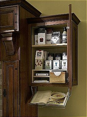 Cookbook Rack   Diamond Lowes | Organization Cabinets Wall Cabinets OMG