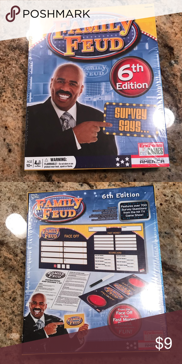 Family Feud Board Game NWT Family feud board game