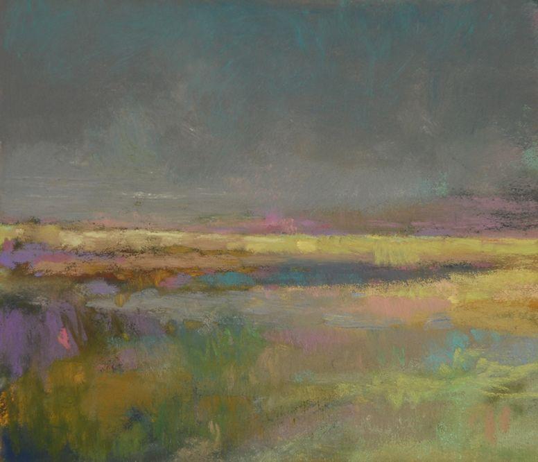 A Fabulous Colorist Casey Klahn Landscape Art Painting Pastel Landscape