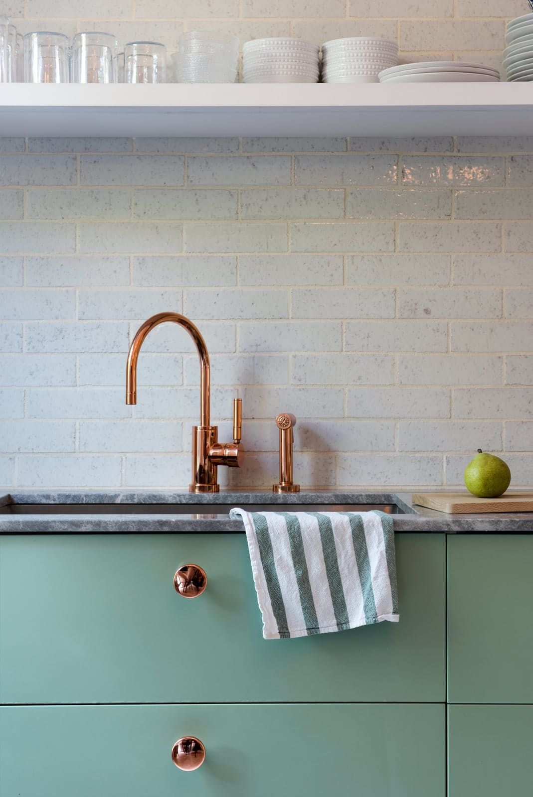 Inspiring Kitchens You Won\'t Believe are IKEA   Copper faucet, Ikea ...