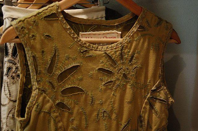 Alabama Chanin dress | Handmade stoffen | Pinterest | Nähen