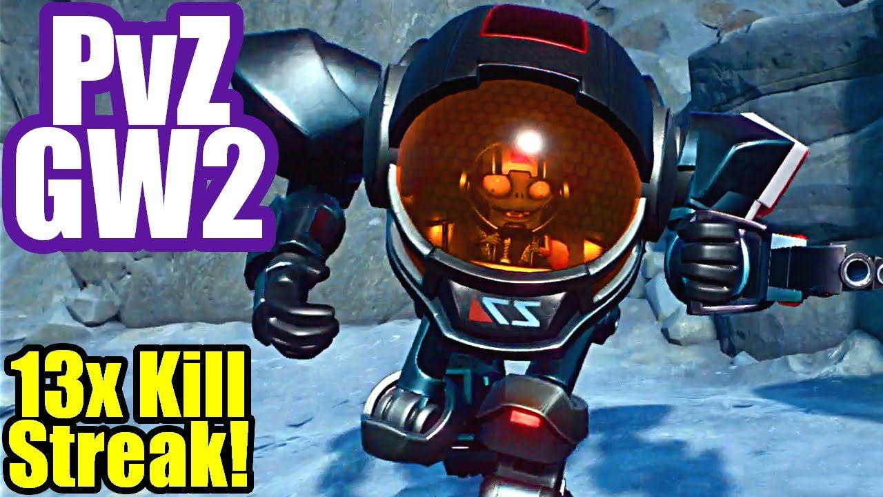Imp Z Mech 13x Kill Streak Plants Vs Zombies Garden Warfare 2 Zombie Warfare Mech