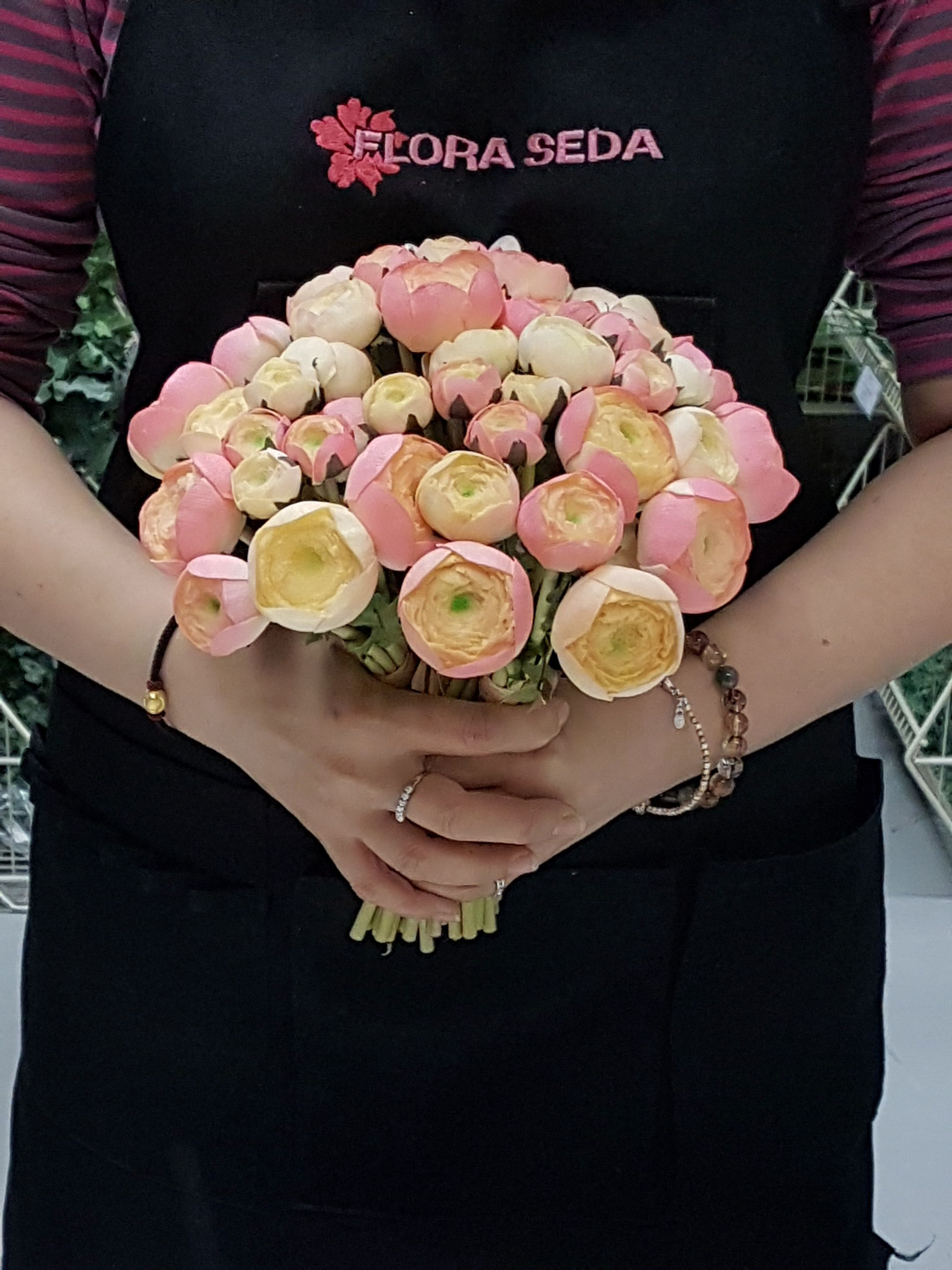 Ranunculus Real Touch Flowers Flower Photos Bunch Of Flowers