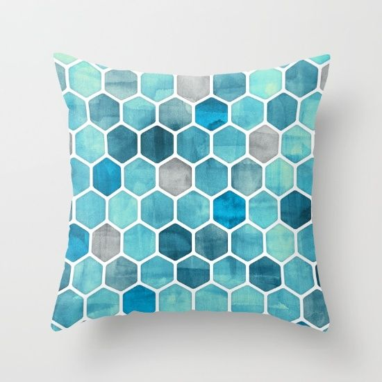 Throw Pillow Made From 100 Spun Polyester Poplin Fabric A Stylish Statement That Will Liven Up Geometric Throw Pillows Throw Pillows Patterned Throw Pillows