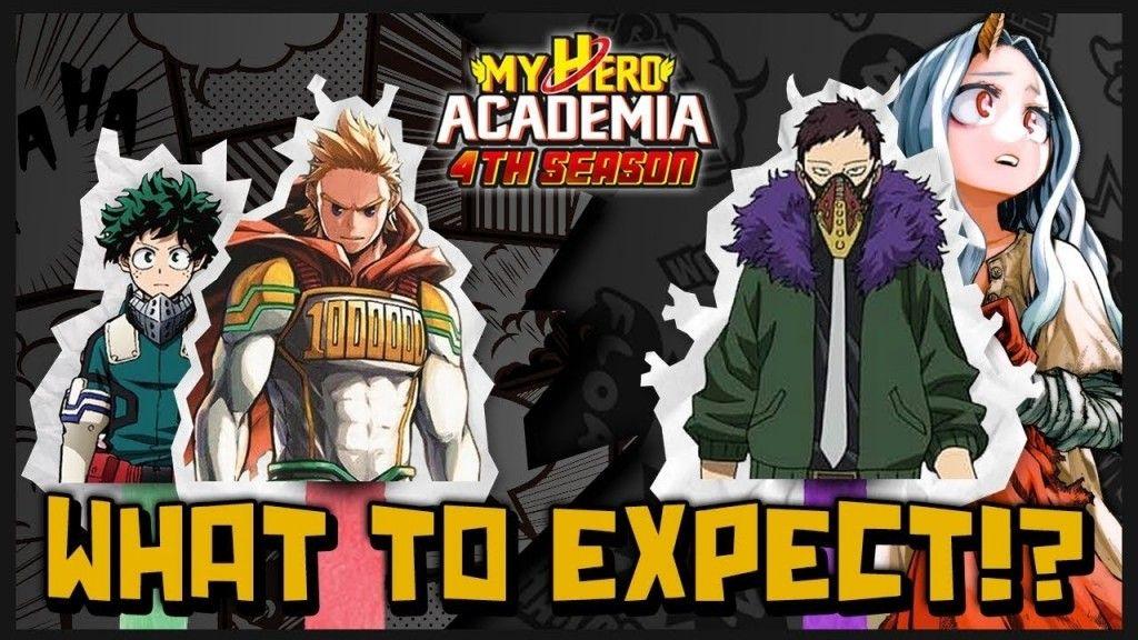 My Hero Academia Saison 4 le nouveau visuel clé de l