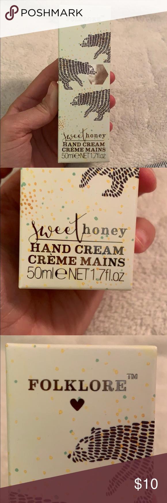 Folklore Hand Cream (50mL) Sweet Honey