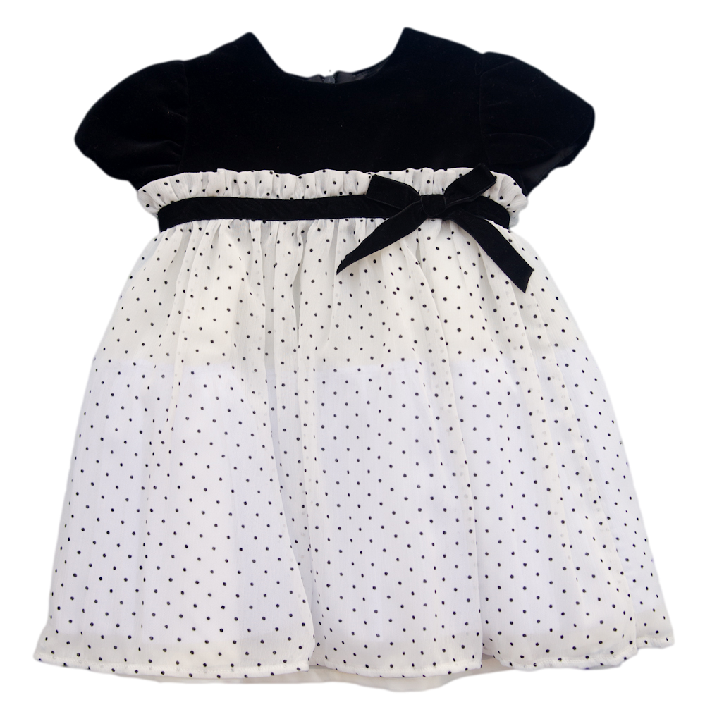Luli & Me Polka Dot Dress - Toddler Girl