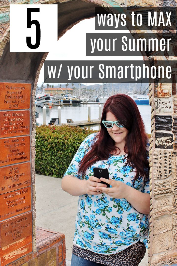 Check out these awesome ways to put your smartphone's data plan to use this Summer- I bet you've never thought of #4 and #5! #SummerIsForSavings #WFM1 #AD