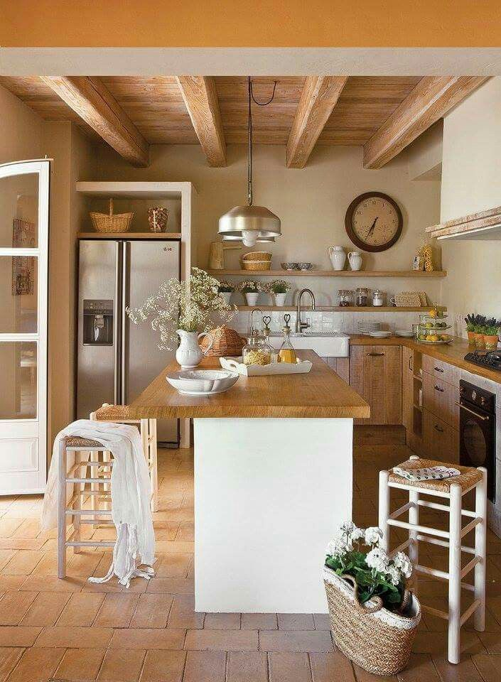 Casa De Campo Cocinas Cocinas Rusticas Y Casas Rusticas De Madera