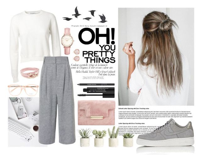 """""""Oh! You pretty things"""" by nellylein ❤ liked on Polyvore featuring Alexandra Golovanoff, TIBI, NIKE, Jayson Home, Allstate Floral, Rodial, Salvatore Ferragamo, Topshop, Monica Vinader and Chloé"""