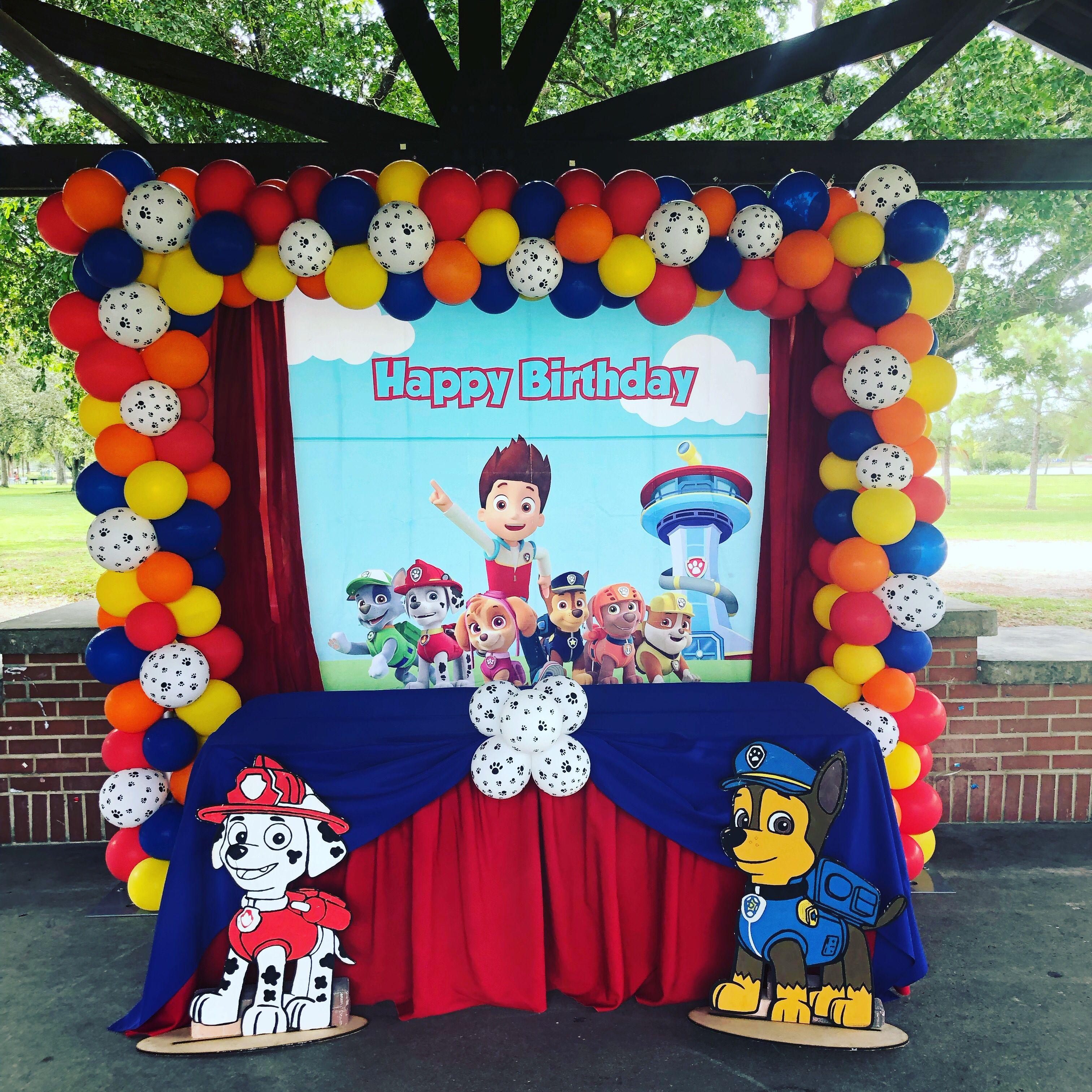 Pin On Paw Patrol Birthday Party Ideas