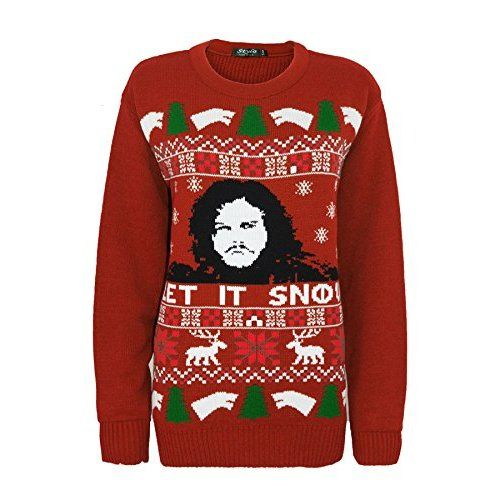 Womens Novelty Xmas Jumper Knitted Christmas Jumper Funny Novelty Dress T-Shirt