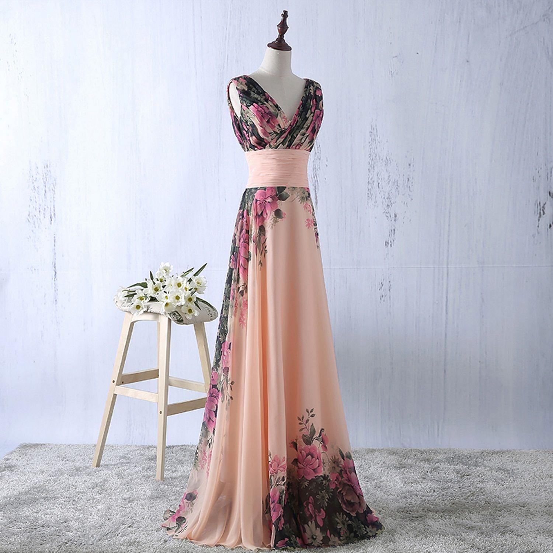 62f16abc8c22 YipGrace Donna Elegante Senza Spalline Vestiti Da Sera Corti Pink M ...