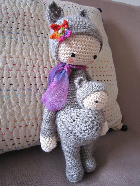 Purple Minion Amigurumi Pattern : KIRA made by Mina-arts LALYLALA amigurumi gallery ...